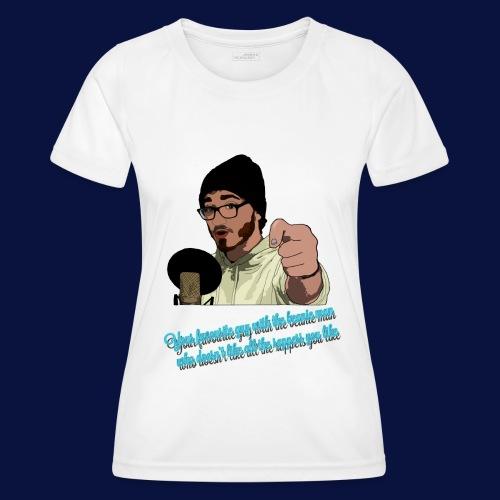Your Favourite Beanie Man - Women's Functional T-Shirt