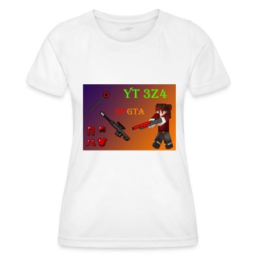 yt 3z4 - Naisten tekninen t-paita