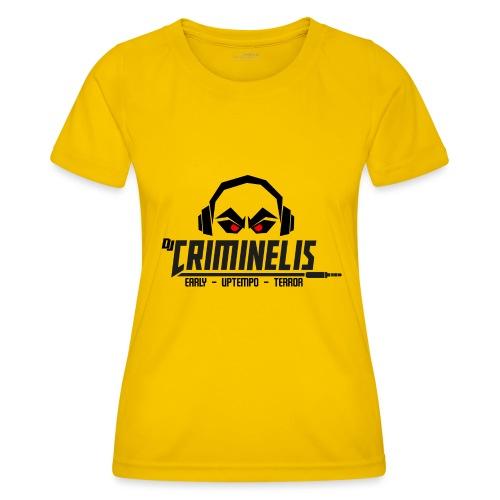 criminelis - Functioneel T-shirt voor vrouwen