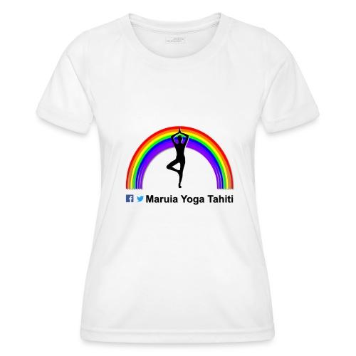 Logo de Maruia Yoga Tahiti - T-shirt sport Femme