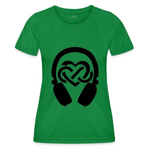 Liefde voor muziek - Functioneel T-shirt voor vrouwen