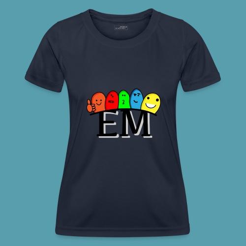 EM - Naisten tekninen t-paita