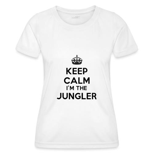 Keep calm I'm the Jungler - T-shirt sport Femme
