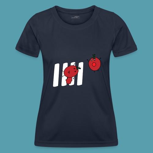 tomaatit - Naisten tekninen t-paita