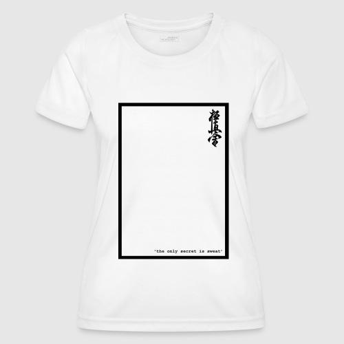performance tshirt - Functioneel T-shirt voor vrouwen