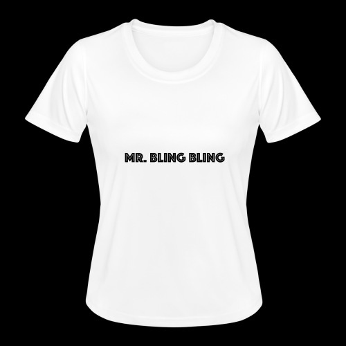 bling bling - Frauen Funktions-T-Shirt