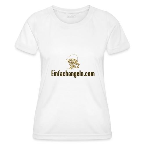 Einfachangeln Teamshirt - Frauen Funktions-T-Shirt