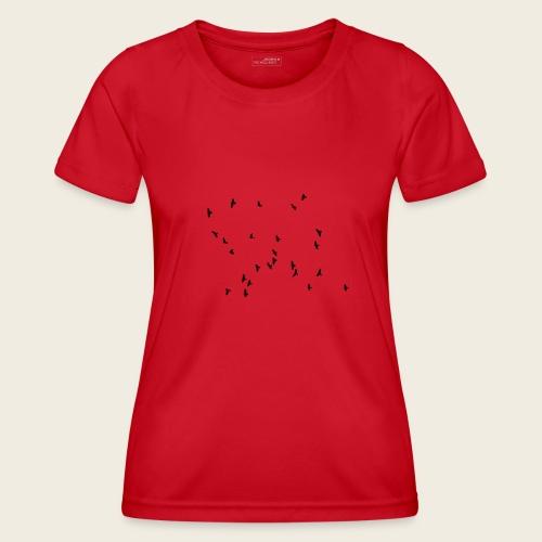 Flying birds - Funktionsshirt til damer