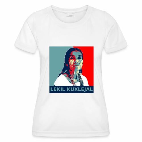 Lekil Kuxlejal - Camiseta funcional para mujeres