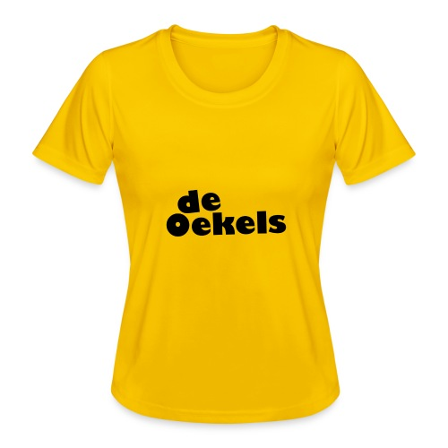 DeOekels t-shirt - Functioneel T-shirt voor vrouwen