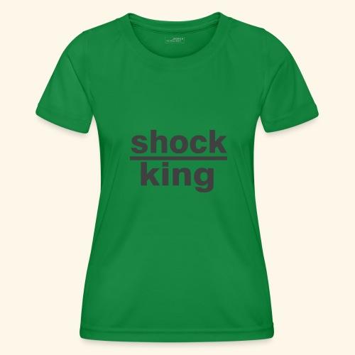 shock king funny - Maglietta sportiva per donna