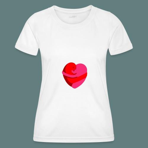 hearts hug - Maglietta sportiva per donna