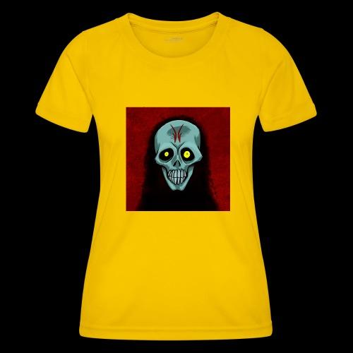 Ghost skull - Women's Functional T-Shirt