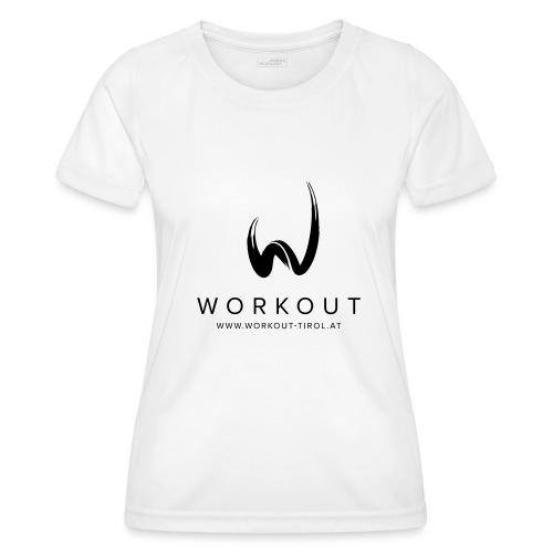 Workout mit Url - Frauen Funktions-T-Shirt