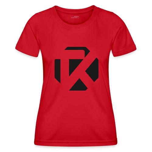 Logo TK Noir - T-shirt sport Femme