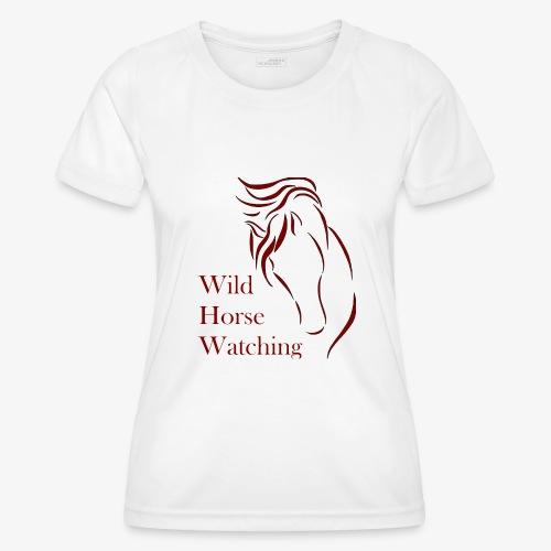 Logo Aveto Wild Horses - Maglietta sportiva per donna