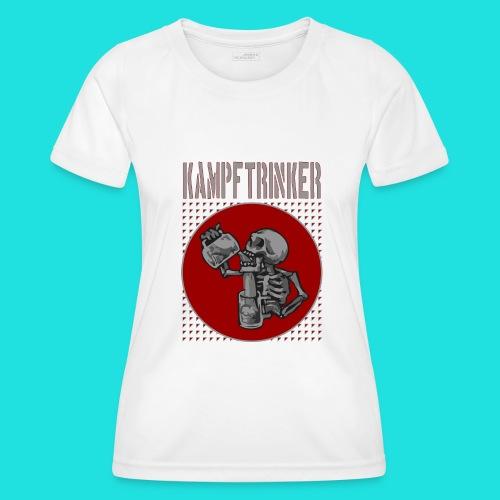 Kampftrinker - Frauen Funktions-T-Shirt