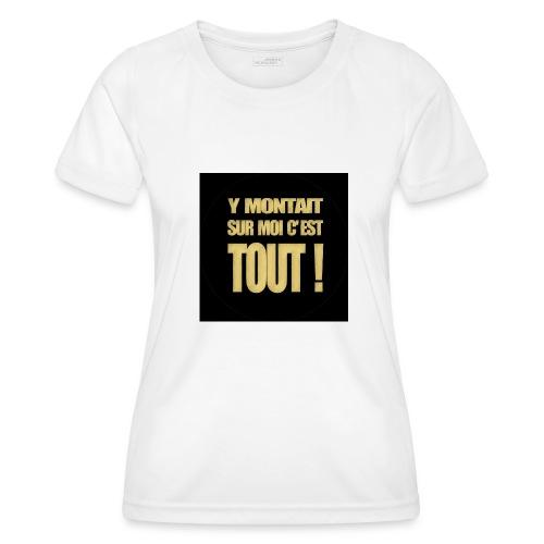 badgemontaitsurmoi - T-shirt sport Femme