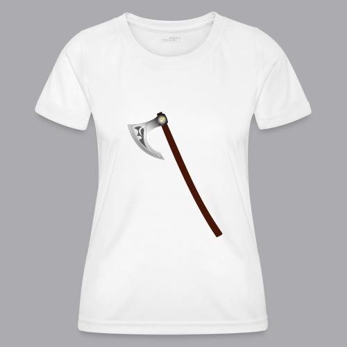 Wikinger Beil - Frauen Funktions-T-Shirt