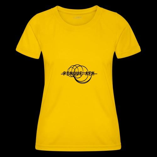 Pinque AEM NERO - Maglietta sportiva per donna