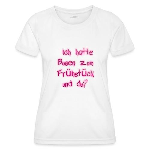 Frühstück - Frauen Funktions-T-Shirt