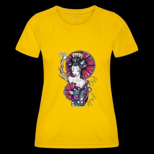 Geisha2 - Maglietta sportiva per donna