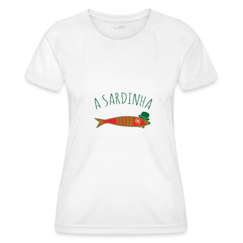 A Sardinha - Bandeira - T-shirt sport Femme