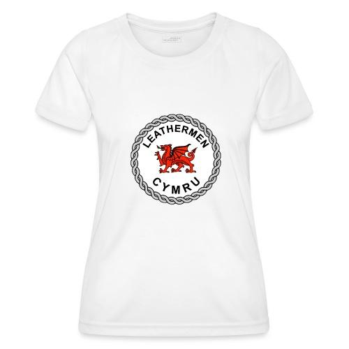 LeatherMen Cymru Logo - Women's Functional T-Shirt