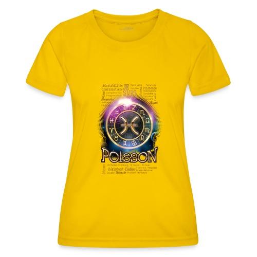 POISSONS - T-shirt sport Femme