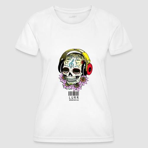 smiling_skull - Women's Functional T-Shirt