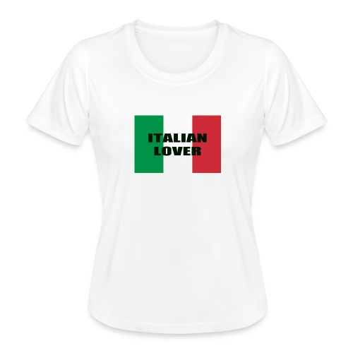 ITALIAN LOVER - Maglietta sportiva per donna