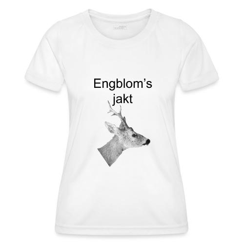 Officiell logo by Engbloms jakt - Funktions-T-shirt dam