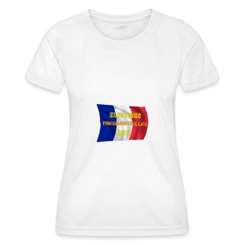 ELECTIONS 2017 - T-shirt sport Femme