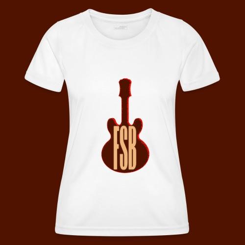 FSB Guitar Logo - Women's Functional T-Shirt