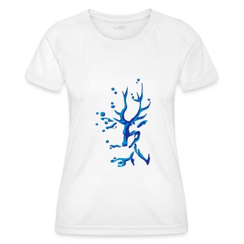 Hirsch - Frauen Funktions-T-Shirt