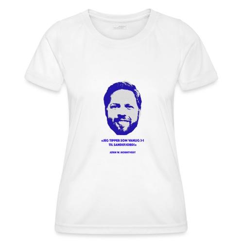 Horntvedt - Funksjons-T-skjorte for kvinner