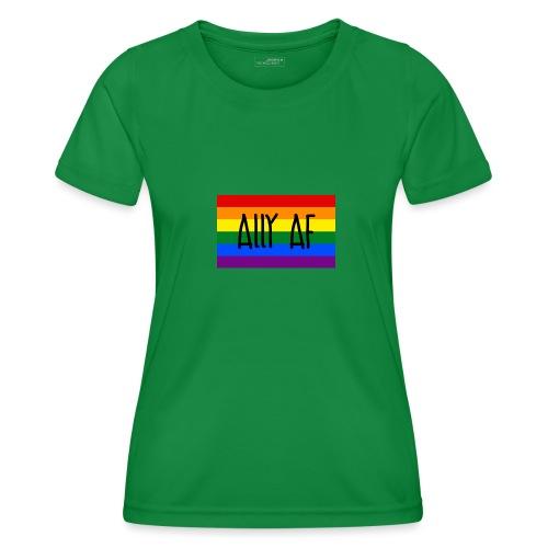 ally af - Frauen Funktions-T-Shirt
