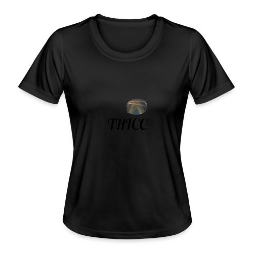 THICC Merch - Women's Functional T-Shirt