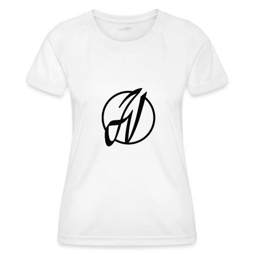 JV Guitars - logo noir - T-shirt sport Femme