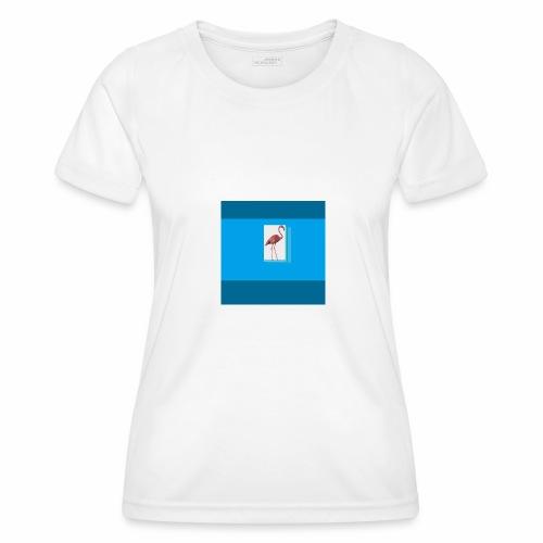 Flamingoscotteri - Maglietta sportiva per donna