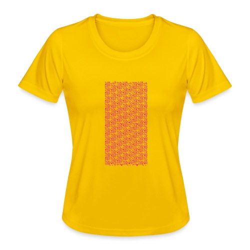 Fluo Sghiribizzy - Maglietta sportiva per donna