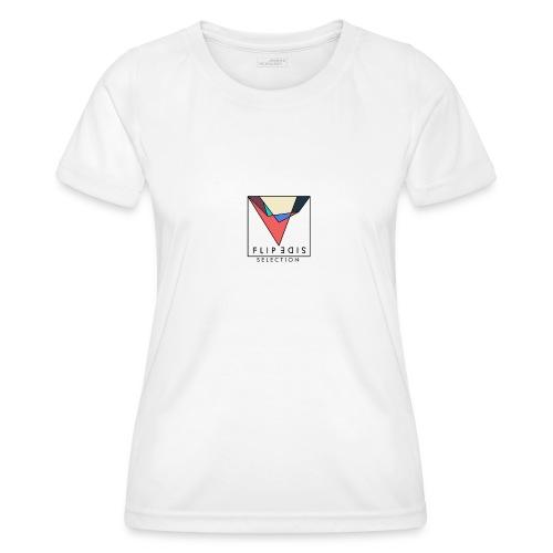 Official Flip Side logo - Women's Functional T-Shirt
