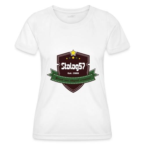 logo - T-shirt sport Femme