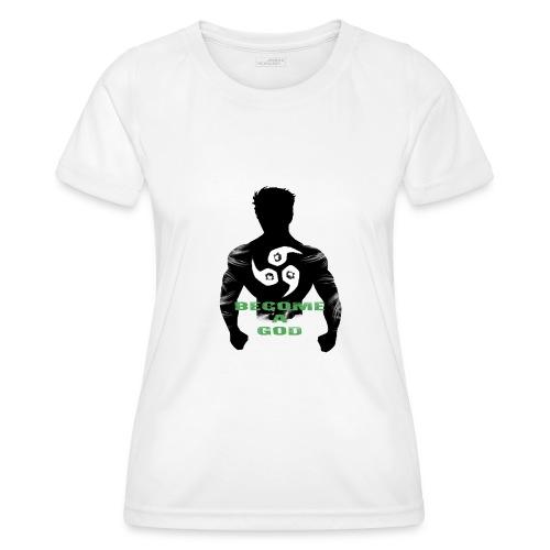 Raijin Become_A_God - Frauen Funktions-T-Shirt