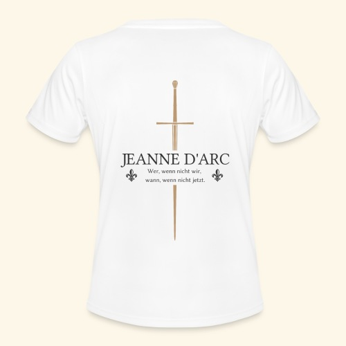 Jeanne d arc dark - Frauen Funktions-T-Shirt