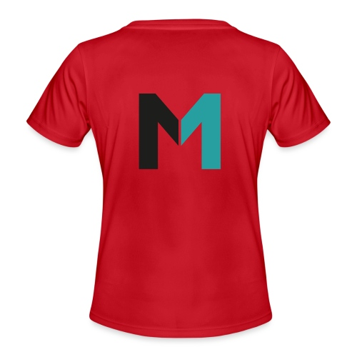 Logo M - Frauen Funktions-T-Shirt