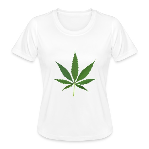 2000px-Cannabis_leaf_2 - Funktionsshirt til damer