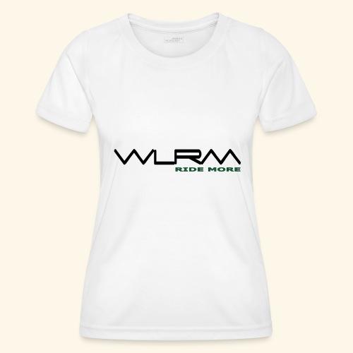 WLRM Schriftzug black png - Frauen Funktions-T-Shirt