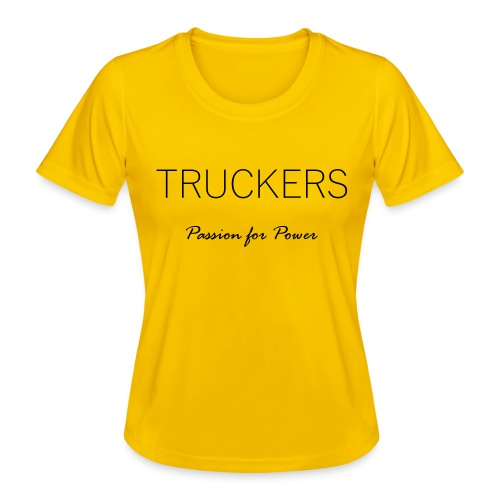 Passion for Power - Women's Functional T-Shirt