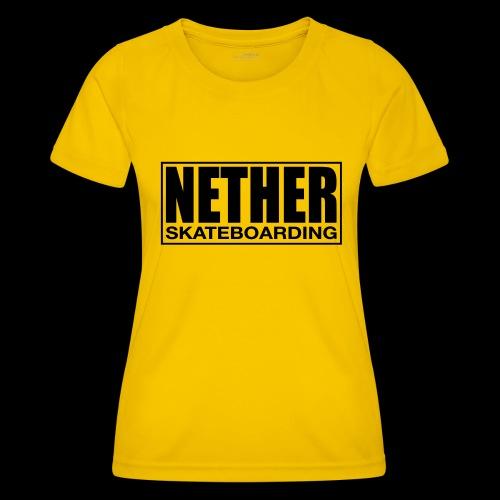 Nether Skateboarding T-shirt White - Maglietta sportiva per donna